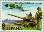 Stamps Spain -  DIA DE LAS FUERZAS ARMADAS