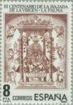 Stamps Spain -  III CENTº BAJADA DE LA VIRGEN (LA PALMA)