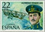 Stamps Spain -  PIONEROS AVIACIÓN ESPAÑOLA Alfredo Kindelan