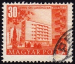 Stamps Hungary -  COL-EDIFICIOS EN BUDAPEST