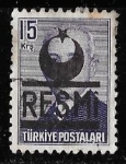 Stamps of the world : Turkey :  Turquía-cambio