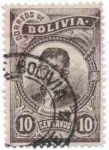 Sellos del Mundo : America : Bolivia : Efigies diversas y escudo
