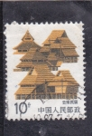 Stamps : Asia : Taiwan :  casas típicas