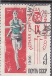 Sellos de Europa - Rusia -   Atletismo