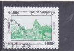 Sellos del Mundo : Asia : Camboya : templo hinduista