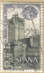 Stamps Spain -   Feria de Nueva York - Castillo de la Mota