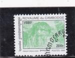Stamps : Asia : Cambodia :  templo  PRASAT PREAH KHAN
