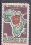 Stamps Mali -   AREA MIGRATORIA DE LA LANGOSTA