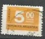 Sellos de America - Argentina -  INTERCAMBIO SCOTT N°1116 (cotiz.0.20 USD)