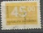 Sellos de America - Argentina -  INTERCAMBIO SCOTT N°1121   (cotiz.0.20 USD)