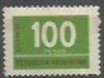 Sellos de America - Argentina -  INTERCAMBIO SCOTT N°1123   (cotiz.0.20 USD)