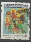 Sellos del Mundo : America : Argentina :  INTERCAMBIO SCOTT N°1066 (cotiz.0.25 USD)
