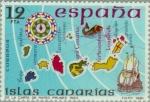 Sellos del Mundo : Europa : España : ESPAÑA INSULAR (CANARIAS) Carta Mateo Prunes