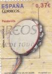 Sellos del Mundo : Europa : España : Pandereta (30)