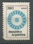 Sellos de America - Argentina -  INTERCAMBIO SCOTT N°1208 (cotiz.0.20 USD)
