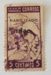 Stamps : America : Venezuela :  Mujer y niño