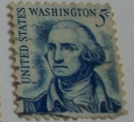 Sellos de America - Estados Unidos -  George Washington