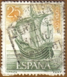 Stamps : Europe : Spain :  Homenaje Marina Española - Carraca