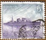 Sellos de Europa - España -  Homenaje Marina Española - Crucero 'BALEARES'