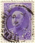 Sellos de Asia - Irán -  IRAN 1935 Scott 841 Sello Usado Shah Reza Pahlavi Stamp