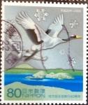 Stamps Japan -  Scott#3040a Intercambio 0,55 usd 80 y. 2008