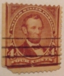 Stamps United States -  lincon 1898