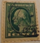 Stamps : America : United_States :  George Washington