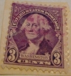 Stamps : America : United_States :  washington