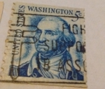 Stamps United States -  washington