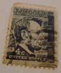 Stamps : America : United_States :  Lincoln