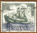 Stamps : Europe : Spain :  Homenaje Marina Española - Galera