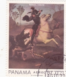 Sellos de America - Panamá -  pintura Raphael Sanzio