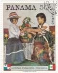 Stamps Panama -  Amistad Panameño -Mexicana