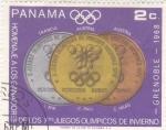 Stamps Panama -  OLIMPIADA DE GRENOBLE-1968