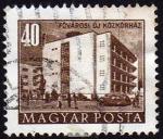 Stamps Hungary -  COL-EDIFICIO