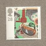 Stamps United Kingdom -  Arte del siglo XX