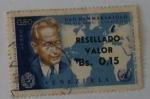 Sellos de America - Venezuela -  Primer aniversario de la Muerte de Dag Hammarskjold