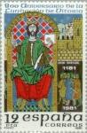 Stamps Spain -  800 ANIVERSARIO FUNDACIÓN DE VITORIA