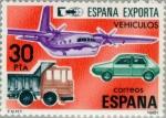 Sellos del Mundo : Europa : España : ESPAÑA EXPORTA VEHÍCULOS