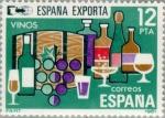 Sellos del Mundo : Europa : España : ESPAÑA EXPORTA VINOS