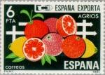 Sellos del Mundo : Europa : España : ESPAÑA EXPORTA AGRIOS