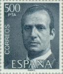 Stamps Spain -  BÁSICA JUAN CARLOS I