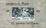 Sellos del Mundo : Europa : España : CENTº PICASSO 1881-1981 EL GUERNICA