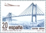 Sellos del Mundo : Europa : España : CORREO AÉREO Puente de Rande (Ría de Vigo)