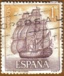 Stamps Spain -  Homenaje Marina Española - Santisima Trinidad