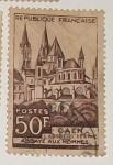 Stamps France -  CAEN L'ABSIDE DE St ETIENNE ABBAYE AUX HOMMES