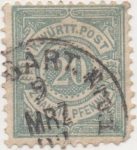 Stamps Europe - Germany -  Wutemberg Y & T Nº 47 [1]