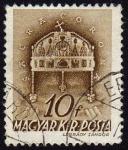 Stamps Hungary -  COL-LA SACRA CORONA O CORONA DE SAN ESTEBAN