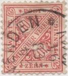 Stamps Europe - Germany -  Wutemberg Y & T Nº 10 Tx