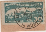 Stamps Germany -  Wutemberg Y & T Nº 123 Tx